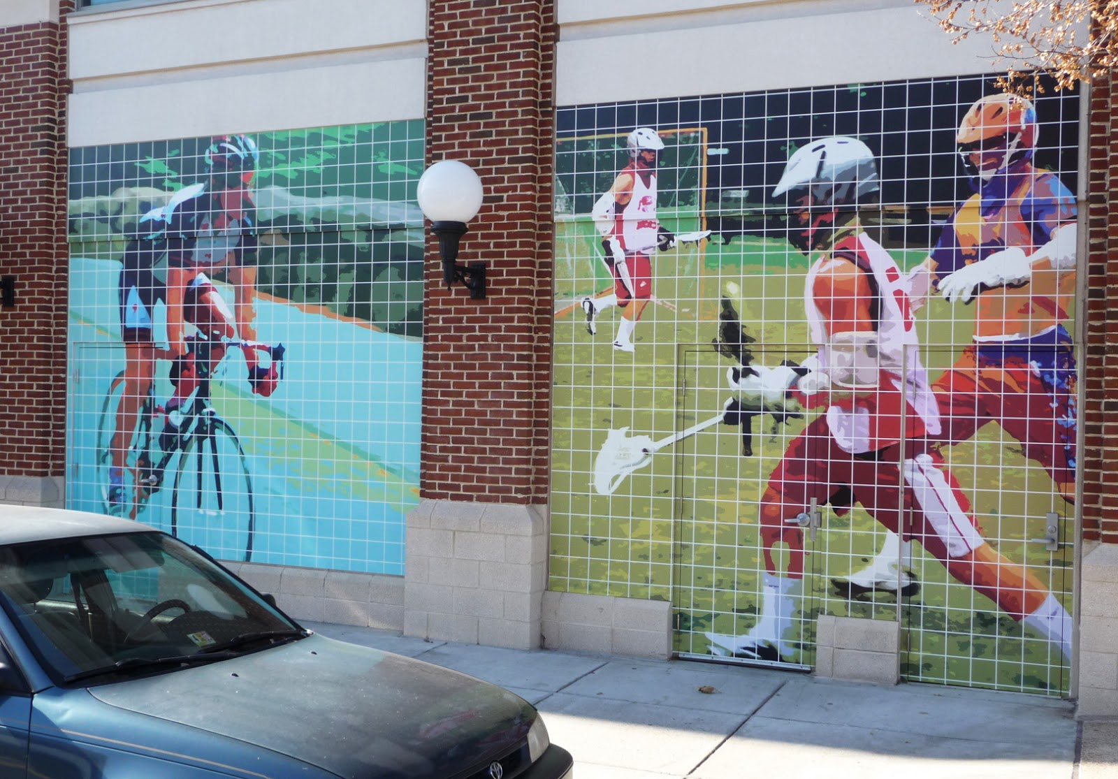 the studio view new mural installed in fairfax circle wall murals lacrosse pixersize com
