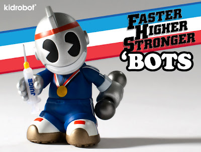 Faster, Higher, Stronger Edition Mini 'Bot by Kidrobot