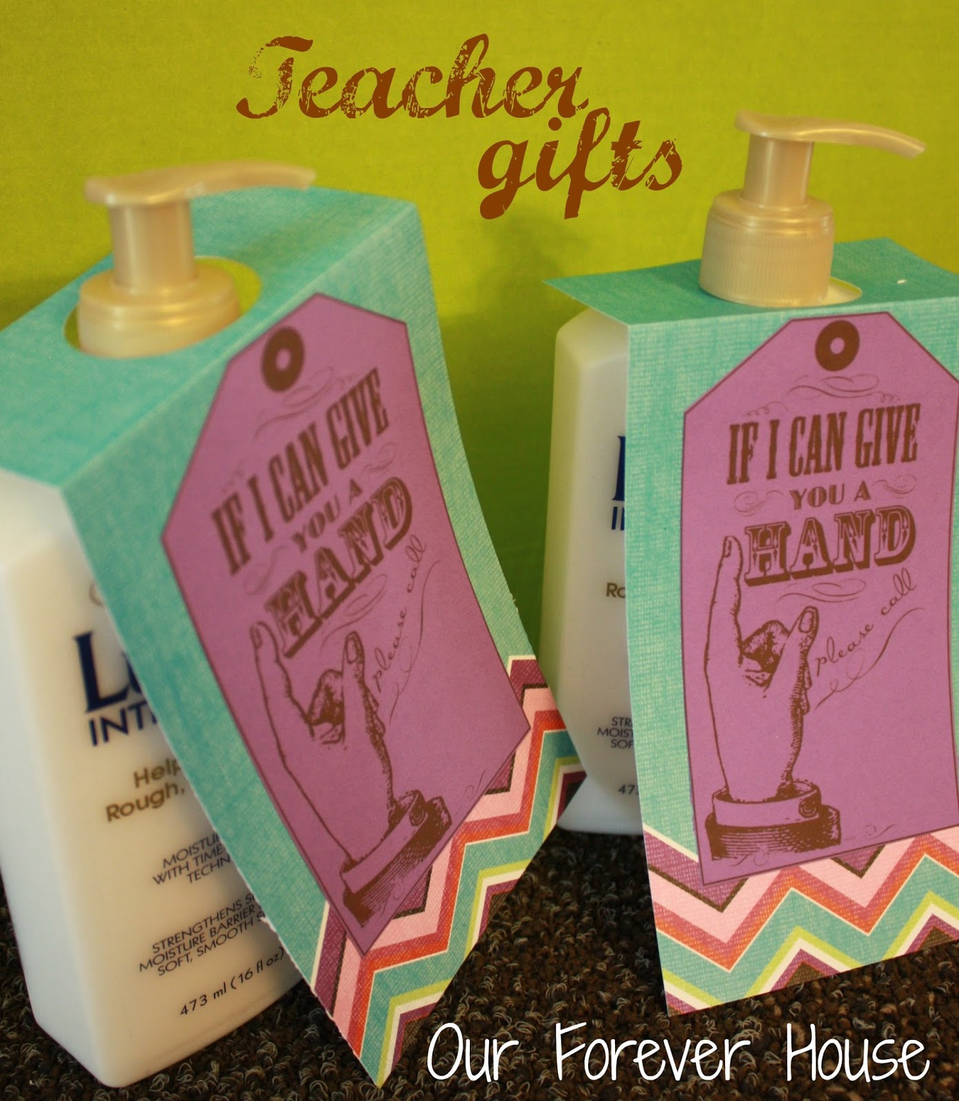 Our Forever House: Back to School: Teacher Gift