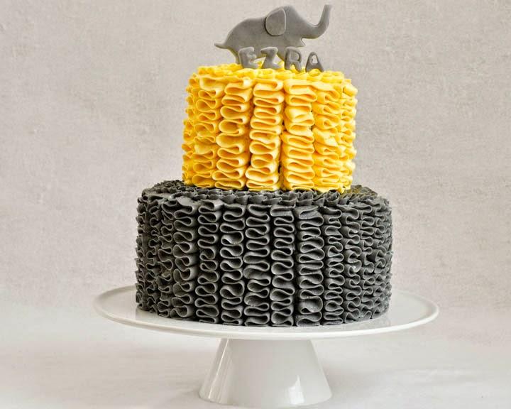 Beki Cook S Cake Blog Elephant Baby Shower Cake