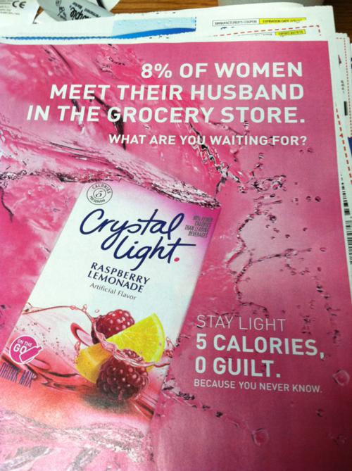 Copyranter Crystal Light Ad Callously Insults Single Women