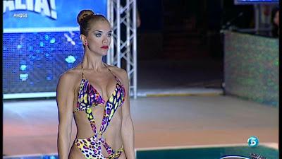 Beatriz Trapote En Bikini En Mira Quien Salta Miercoles 13 Marzo