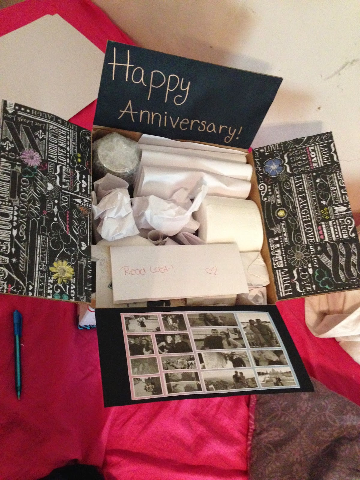 Thoughtful diy gift ideas for your tin anniversary for Gift ideas for 1 year wedding anniversary