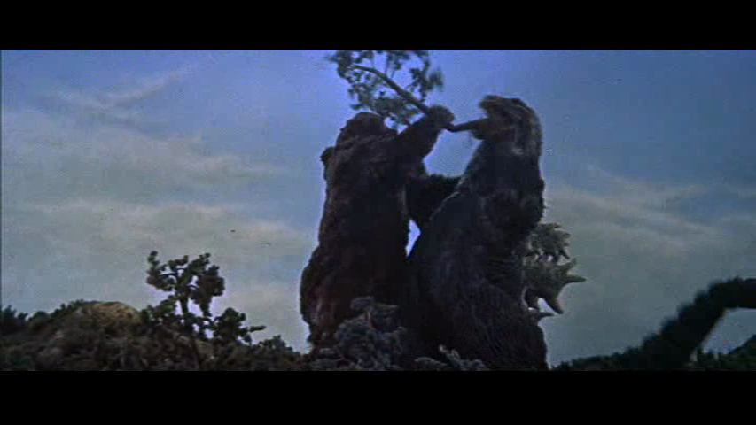 that shows the  quot tree quot  incident back in 1962 vs the Japanese GojiraGodzilla Vs King Kong 2014