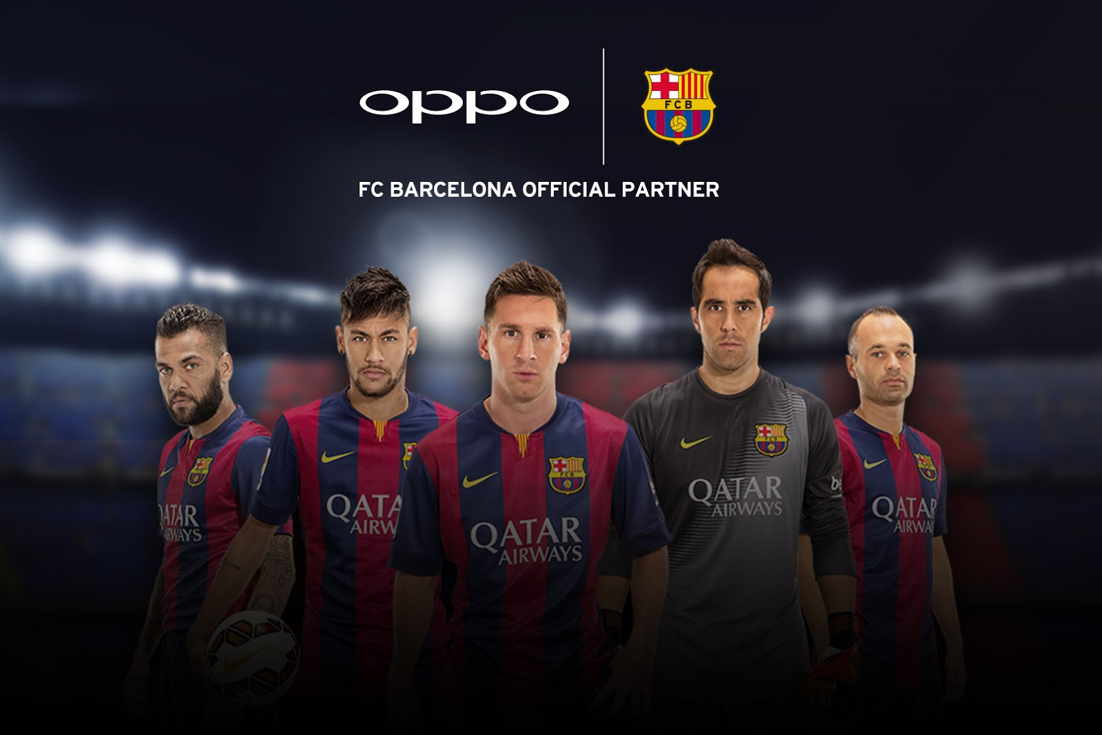 OPPO solidifies global presence with FC Barcelona partnership