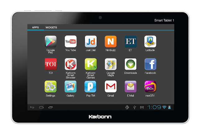 karbonn smart tab jelly bean