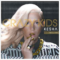 Kesha Crazy Kids cover single