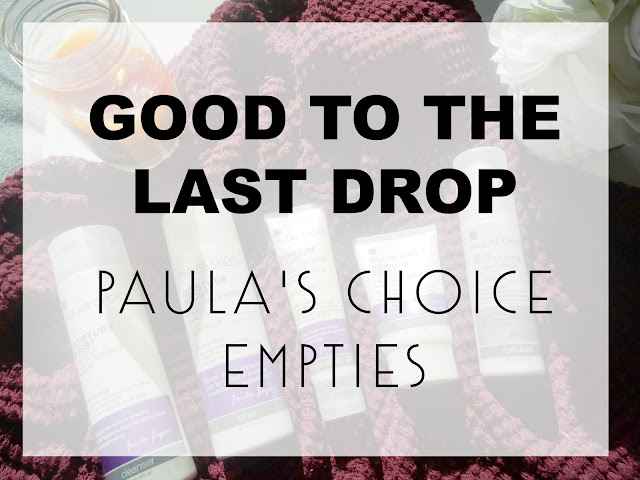 paulas choice empties #verylastdrop primp power primper skin care love krista