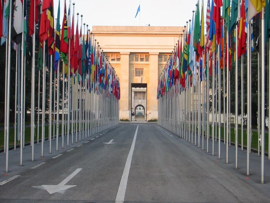 флаги стран-членов ООН