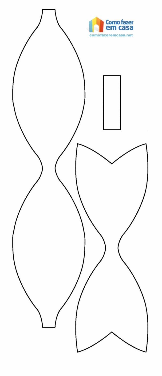 Artes da nanda da bahia la o de papel for Cartamodello per papillon