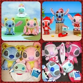 2008 Disey Sega Stitch Angel Leroy Xmas / 2009 Froggy Set