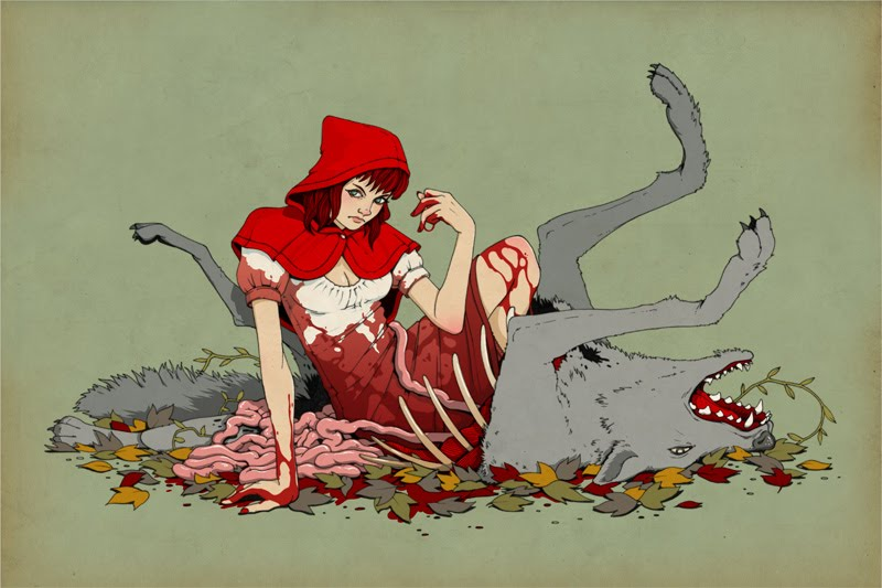 Popped Culture Bloody Red Riding Hood