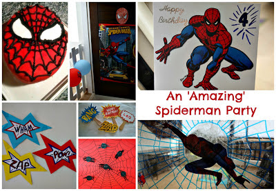 Spectacular Amazing ultimate Spiderman party