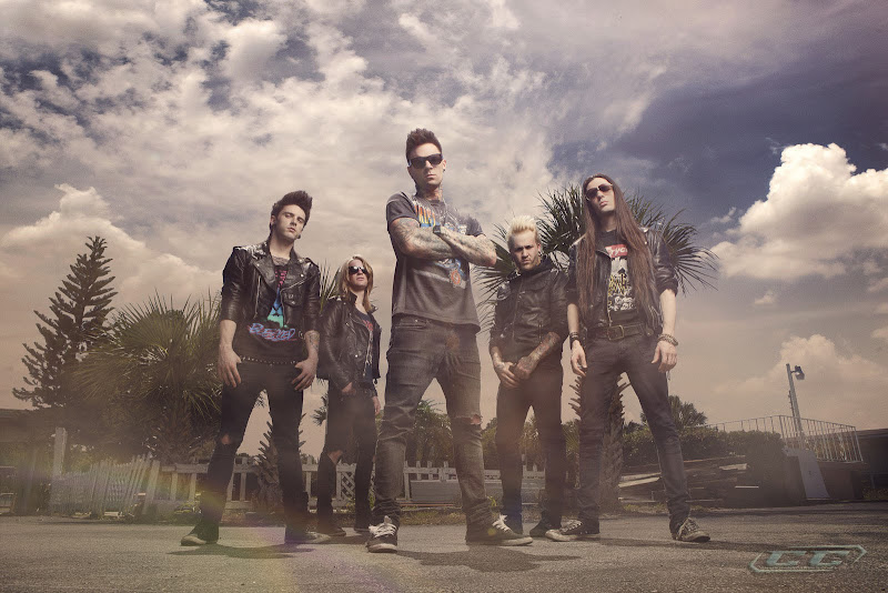 Blessed By A Broken Heart - Feel The Power 2012 band members hd poster