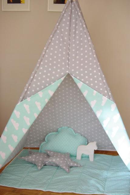 namiot dla dzieci, prezent dla dziecka, wigwam namiot