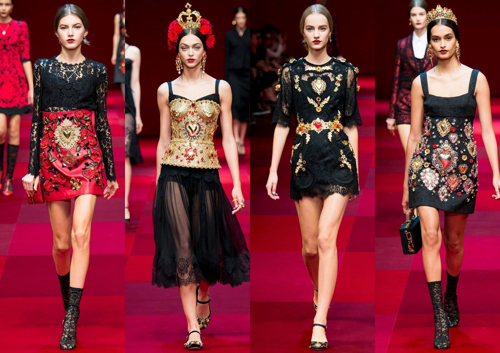 Dolce & Gabbana SS15 - #MFW