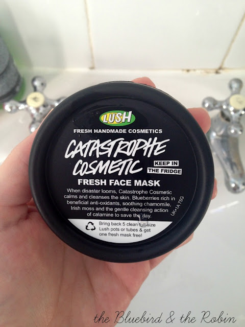 A picture of Lush Catastrophe Cosmetic face mask