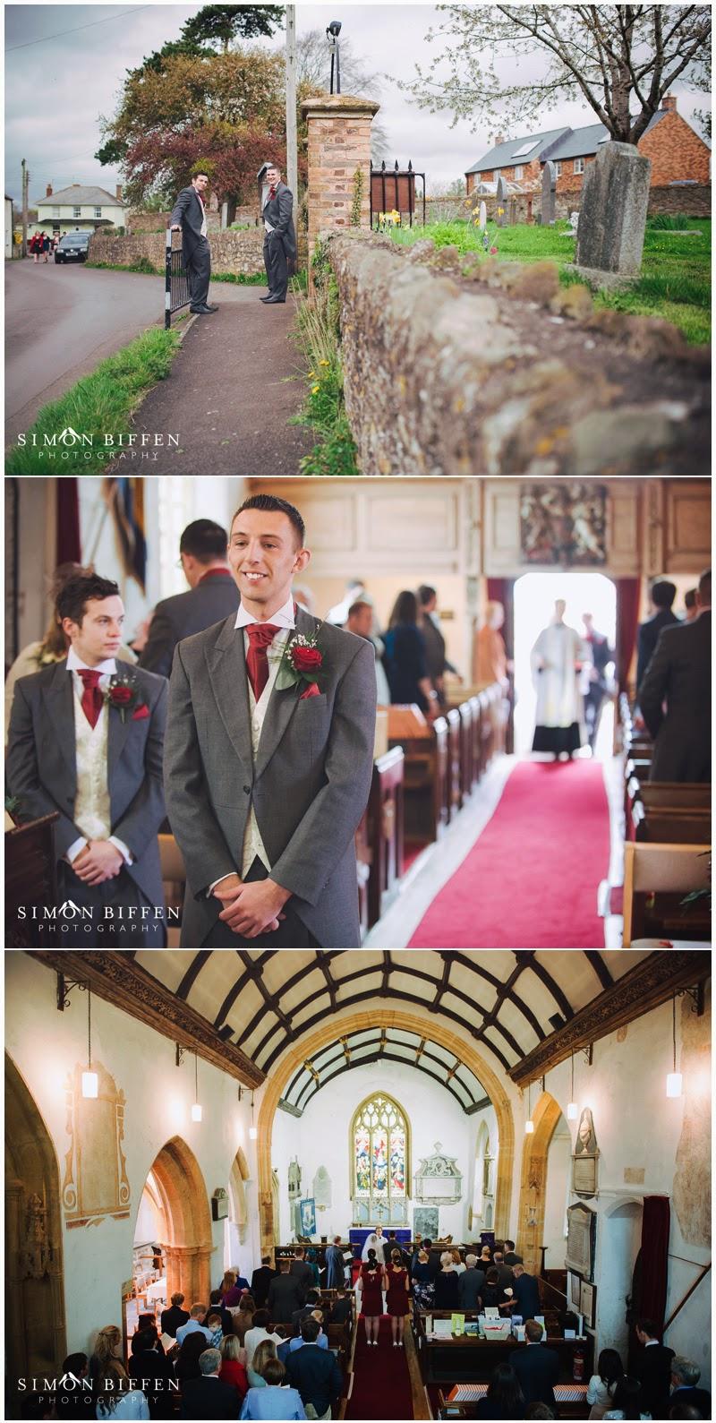 Wedding ceremony Creech St Michael