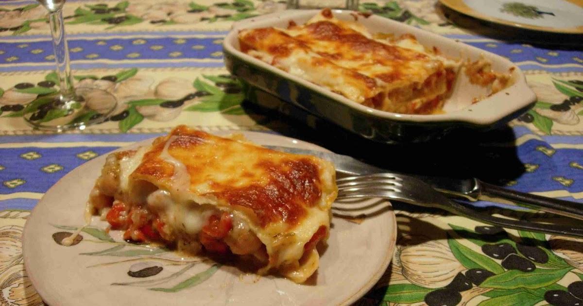 Bear, Dolly and Moi: ratatouille lasagna