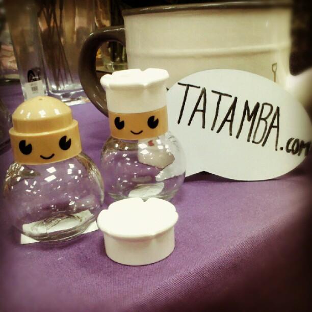 Tatamba blog de decoraci n octubre 2012 - Saleros originales ...