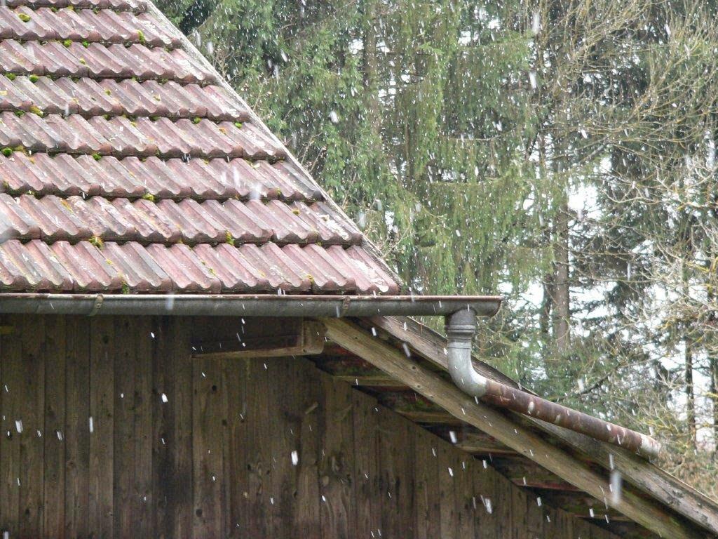 Schneeflocken Weihnachten Winter Bayern