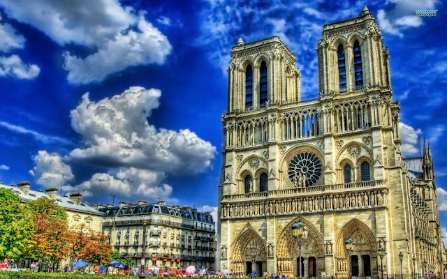 Notre Dame de Paris_wallpaper_hd_9