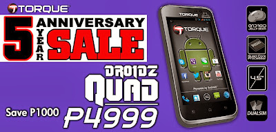 Torque DROIDZ QUAD Specs and Price Discounts!