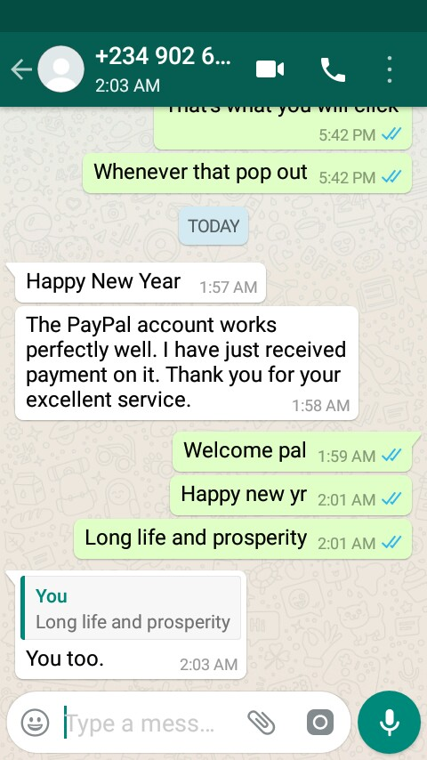 open us PayPal Account in Nigeria