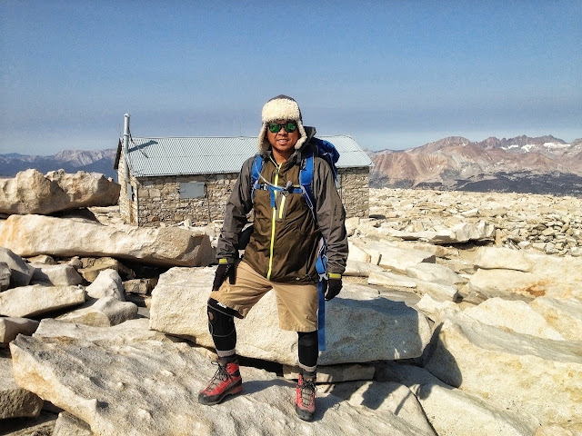 Roman at Mount Whitney summit, June 2013 (Photo by Roman Racela)