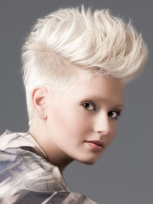 Undercut Hairstyle Women Short hairstyles undercut