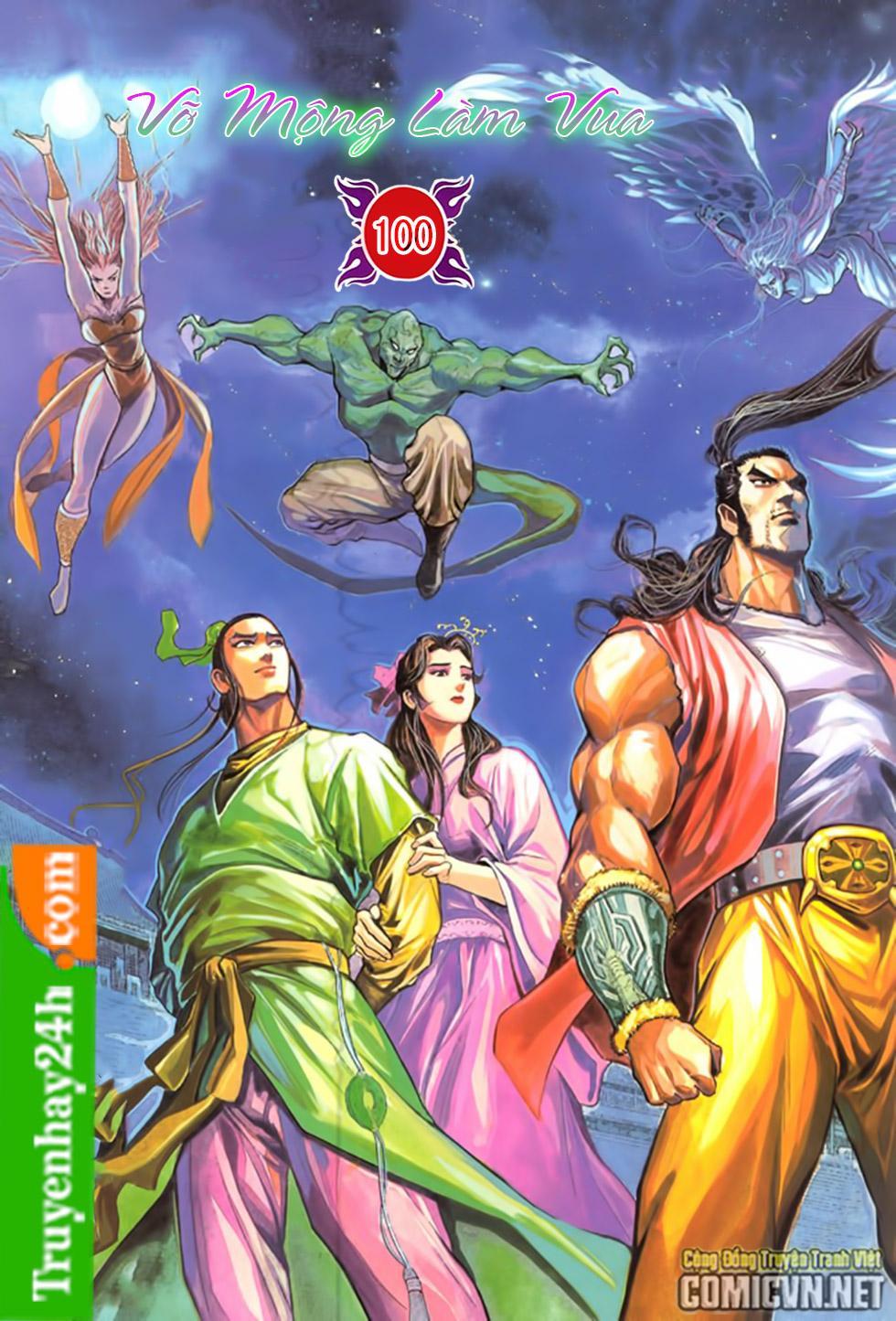 Thiên Long Bát Bộ chap 100 - Trang 1
