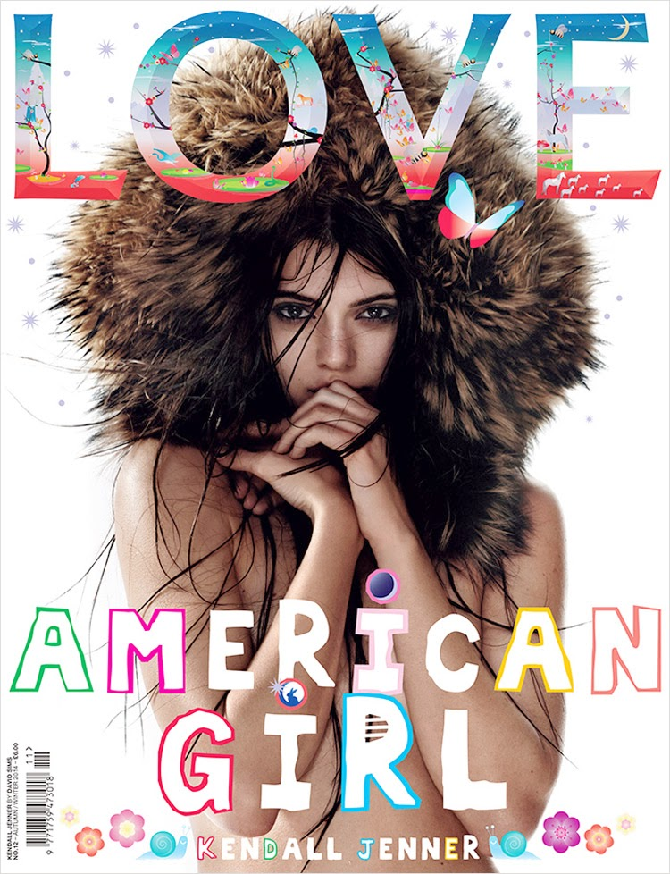 Kendall Jenner for Love Magazine
