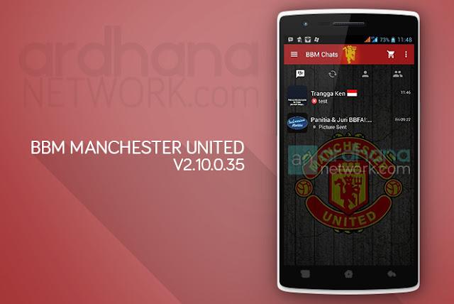 BBM Manchester United - BBM Android V2.10.0.35