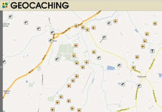 Geocaching map
