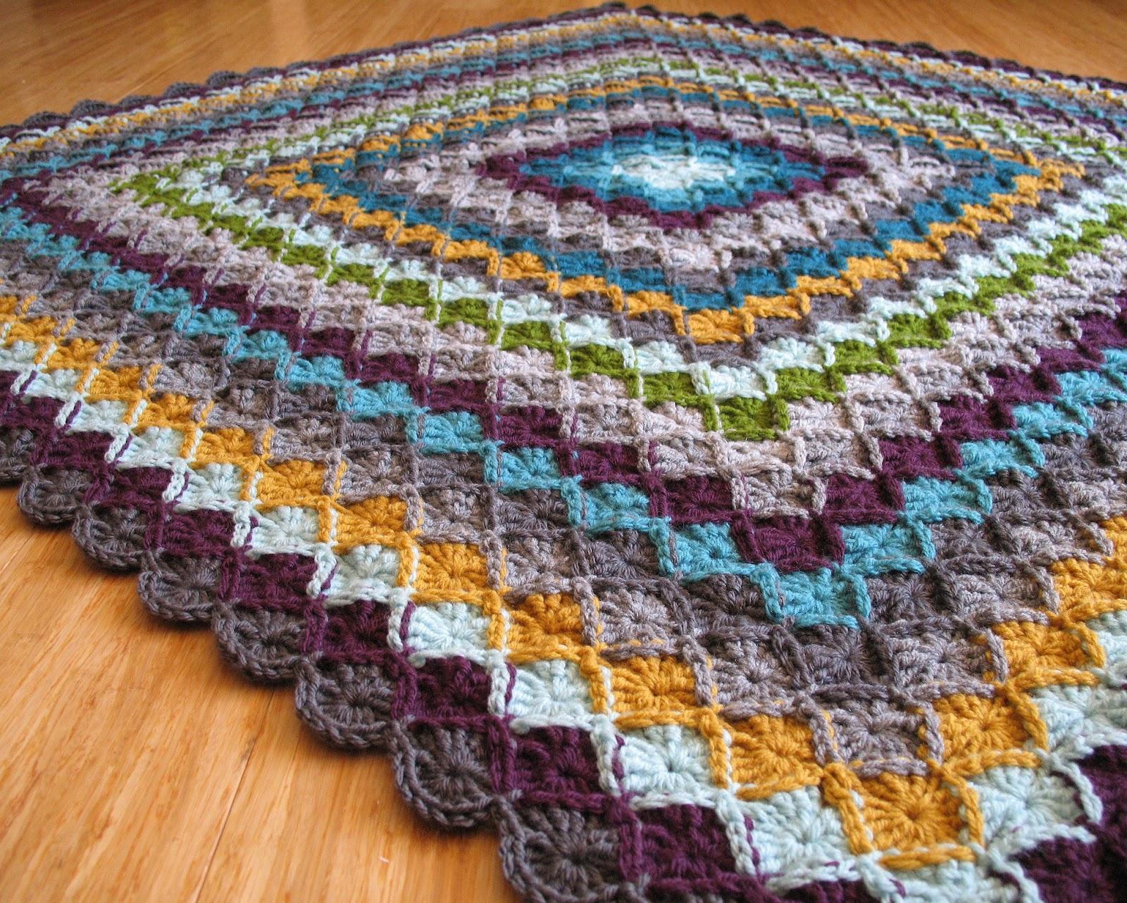 eclectic me: wool eater blanket CAL week 6ish...