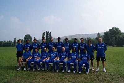 Nazionale Italiana World Cricket League 3 2010 - Bologna (Italia)