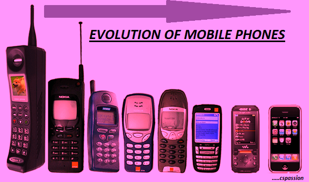 evolution of cell phones