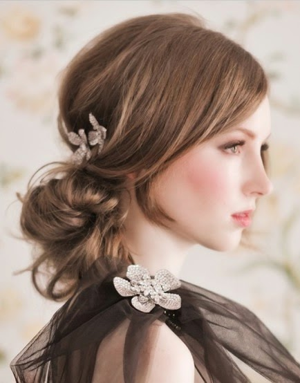homecoming hairstyles for short hair 2015}