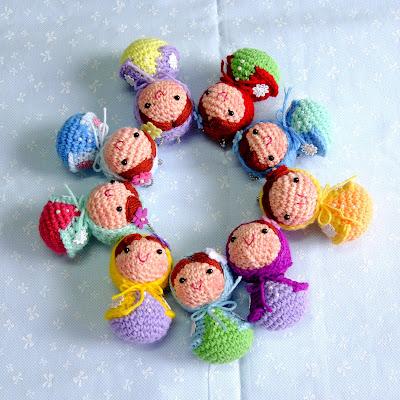 Amigurumi Nesting Dolls : One Love Cottage: 1?cottage::.Baby Matryoshka Babushka ...