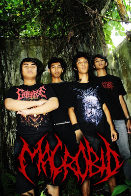 Macrobid Band Technical Death Metal Samarinda - Kalimantan Timur Foto Personil Logo Wallpaper