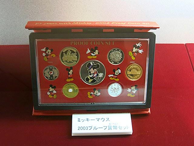 ミッキーマウス 2003プルーフ貨幣セット