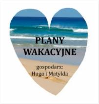Plany wakacyjne