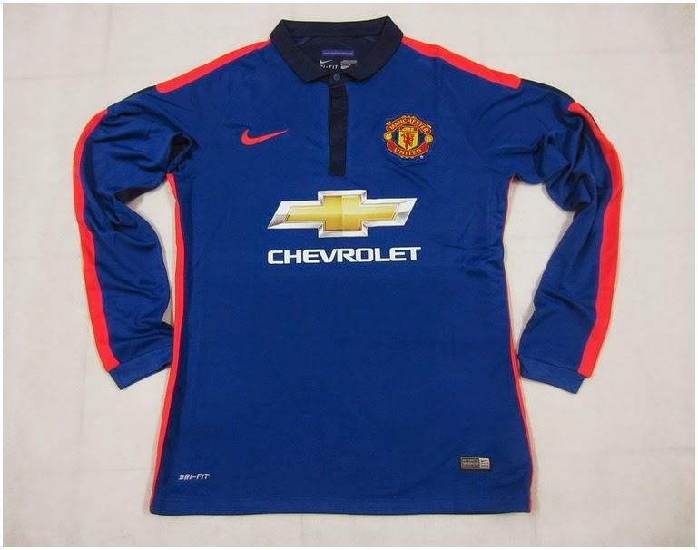 Jersey Manchester United 3rd Lengan Panjang 2014 2015