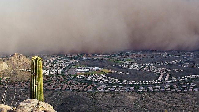 Ribut pasir di Arizona - 19 Julai 2011