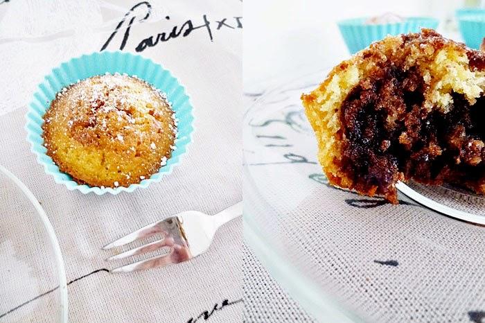 Nutella Swirl Vanilla Cupcakes