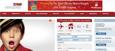 TAM VIAGENS AÉREAS | WWW.TAMVIAGENS.COM.BR