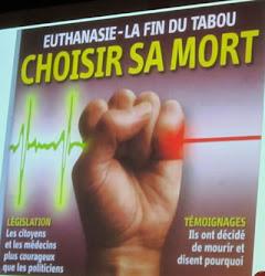 Affiche ADMD Suisse romande