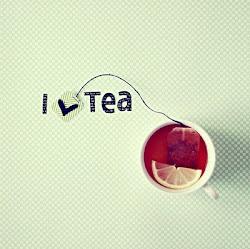 Como el té :)