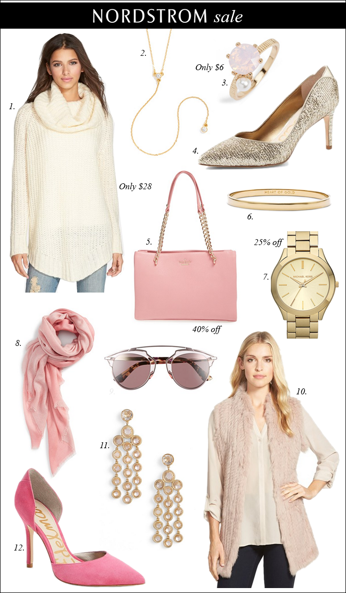 NORDSTROM SALE, pink, blush, gold, gift ideas under $25, gift ideas, black friday, pre-thanksgiving sales