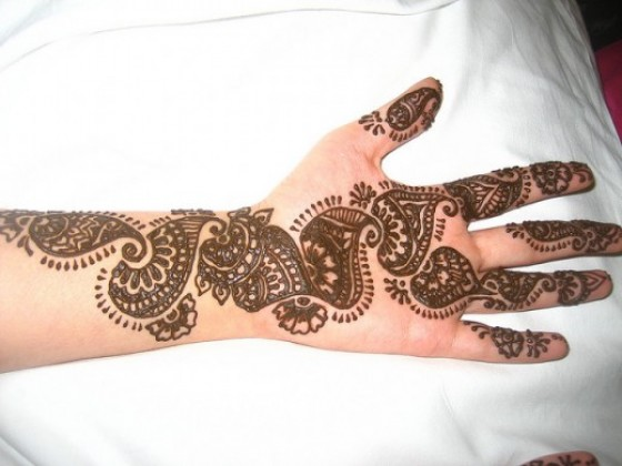 Mehndi Designs New Models : Latest party mehndi designs for girls fashionzu